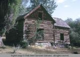 Log house, Albion, Idaho, 1970