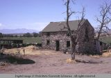 Stone house used as barn, between Centerville and Farmington, Utah, 1971