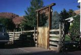 Property entrance, Moab, Utah, 1972