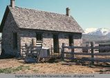 Stone house used as stable, Smithfield, Utah, 1970