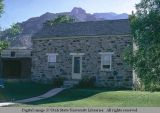Stone house, Honeyville, Utah, 1970