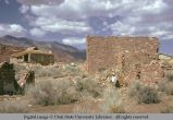 Stone house in ruins, Silver Reef, Utah, 1974