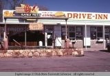 Drive-in restaurant building