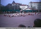 Folk dancers during Easter celebration, Biarritz, France, 1969