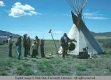American Indian crafts at Golden Spike Festival, Promontory Point, Utah, 1977