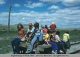 Children at Golden Spike Festival, Promontory Point, Utah, 1977