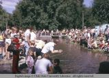 Fishing contest at Pioneer Day celebration, Logan, Utah, 1974