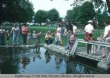 Fishing derby at Pioneer Day celebration, Logan, Utah, 1977