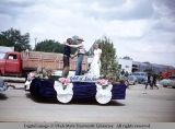 Parade float, 4th of July, Monticello, Utah, 1953