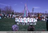 Ready to wind the Maypole, Mendon, Utah, 1975