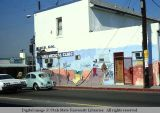 Medical building mural, Boyle Heights,  Los Angeles, California, 1978