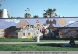Wall mural, Venice, California, 1979