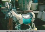 Burro garden figurine, Los Angeles, California, 1966