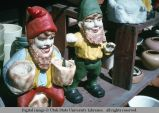 Garden dwarf figurines, Los Angeles, California, 1966