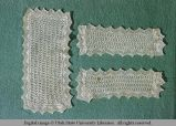 Lace antimacassar, Utah, 1956