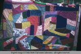 Crazy-patch quilt, Moab, Utah, 1953