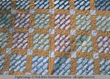 Nine-patch quilt, Moab, Utah, 1953