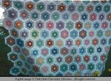 Honeycomb quilt, Livingston, Montana, 1978