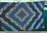Log cabin quilt, Livingston, Montana, 1978