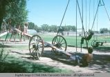 Wagon wheel teeter-totter, Randolph, Utah, 1978