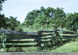 Jack fence, northwest Arkansas, 1973
