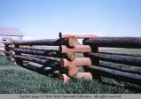 Zigzag fence corner, north of Idaho Falls, Idaho, 1979