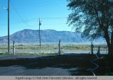 Fence posts and gate, Malad, Idaho, 1978