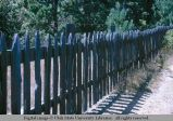 Picket fence, Mendocino, California, 1964