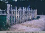Picket fence, Moab, Utah, 1953
