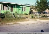 Picket fence, Texas, 1968