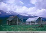 Pole gates, between Bozeman and Livingston, Montana, 1968
