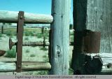 Gate latch, Holbrook, Idaho, 1975