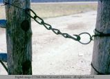 Gate latch, Island Park, Idaho, 1973