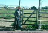 Pole gate, Holbrook, Idaho, 1975