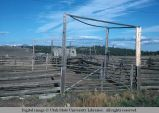 Range corrals, south of John Day, Oregon, 1977
