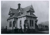 Residence of Director of the Agricultural College of Utah's Experiment Station, circa 1904