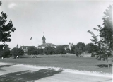 Campus view, 1945, The Quad