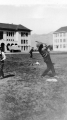Baseball on the Quad, circa 1930