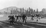 Football game between the UAC Aggies and the Colorado Aggies, 1917