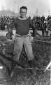 """Our point winner"", member of the 1915 football team"