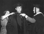 Xamedi Assam at Commencement, 1968
