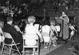 Choir and orchestra at Commencement, ca. 1960s