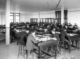 Students in the accounting room, 1903
