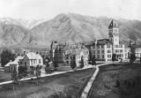View of campus from the roof of the University Annex, 1905