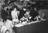 Refreshment table on Commencement Day, 1960s