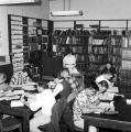Current Periodicals reading room, first floor, Merrill Library, 1961