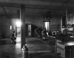 One of five dairy rooms in the basement of Old Main, 1893
