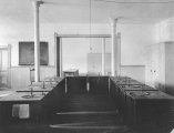 Chemistry laboratory located on the third floor of Old Main, circa 1903