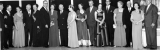 Group of couples in evening dress