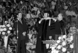 LaVell Merl Henderson receiving honorary doctorate, 1974